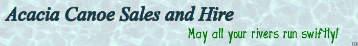Acacia Canoe Sales and Hire