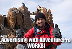 Advertising with AdventurePro WORKS!