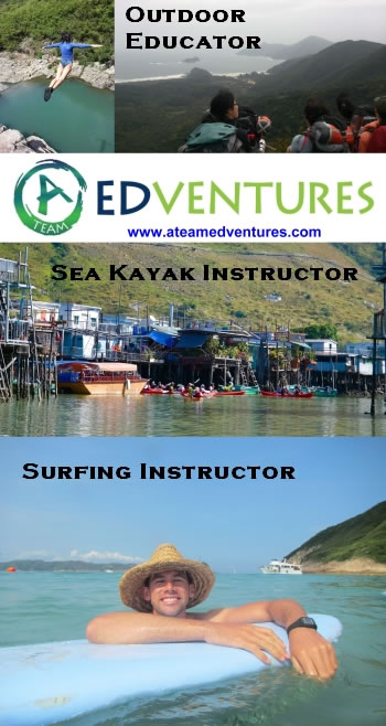 A-Team Edventures - Outdoor Educator and Instructor/Surf Instructor/Sea kayak instructor