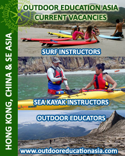 Outdoor Education Asia Current Job Vacancies!