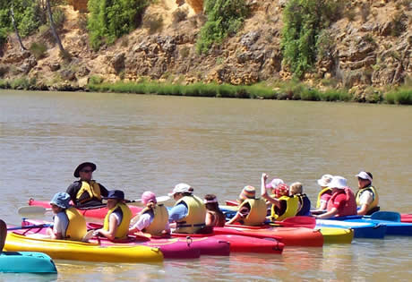 Kayaking. Copyright Active Education 2014. All Rights Reserved.