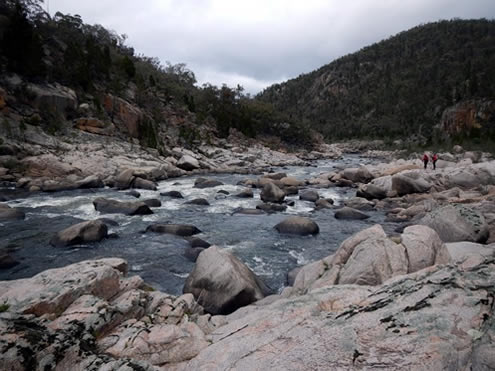 Snowy River Boulder Section. Copyright Jolyon Taylor 2014. All Rights Reserved.