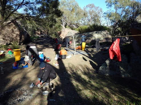 Snowy River Corrowong Falls Campsite. Copyright Jolyon Taylor 2014. All Rights Reserved.