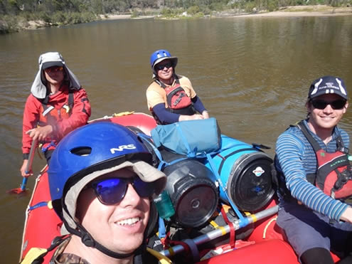 Snowy River Rafting Crew. Copyright Jolyon Taylor 2014. All Rights Reserved.