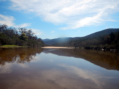 Snowy River Lower Flats. Copyright Jolyon Taylor 2014. All Rights Reserved.