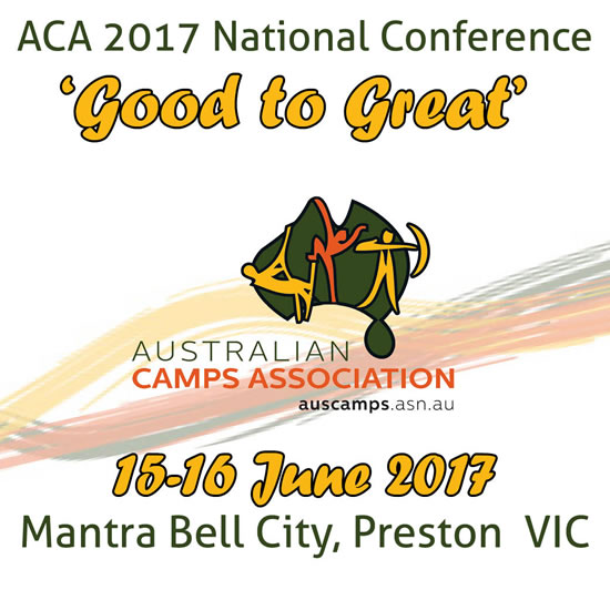 ACA National Conference 'Good to Great' - 15-16 June 2017