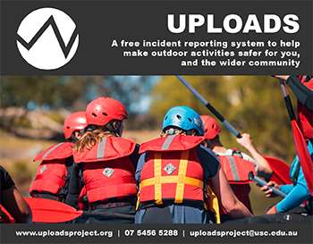 UPLOADS --- Free incident reporting system to help make outdoor activities safer!