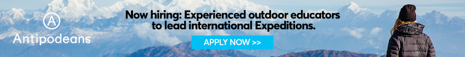 Antipodeans --- Now hiring: Experienced outdoor educators to lead international Expeditions!
