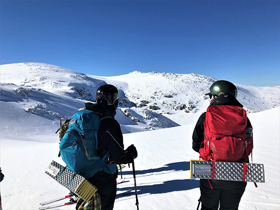 Alpine Bushwalking and Ski Touring. Copyright 5 Star Training & Consulting 2019. All rights reserved.