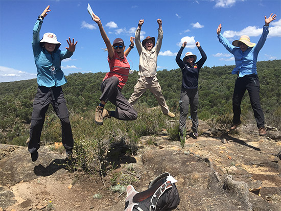 Group Jump. Copyright TAFE NSW 2019. All rights reserved.