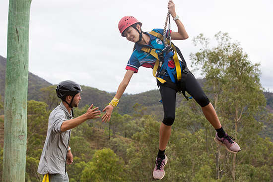 High Ropes. Copyright Camp Kokoda 2019. All rights reserved.