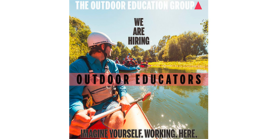 Outdoor Educators. Copyright The Outdoor Education Group 2019. All rights reserved.