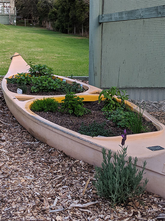 Canoe Garden. Copyright UC Camping 2019. All rights reserved.