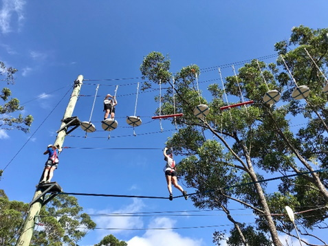 High Ropes. Copyright Adventureland 2020. All rights reserved.