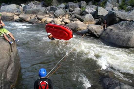 Whitewater Raft Guiding. Copyright Cairns Adventure Group 2020. All Rights Reserved.