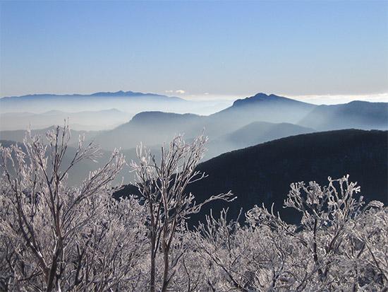 Mt Cobbler in Winter. Copyright Geelong Grammar School 2020. All rights reserved.