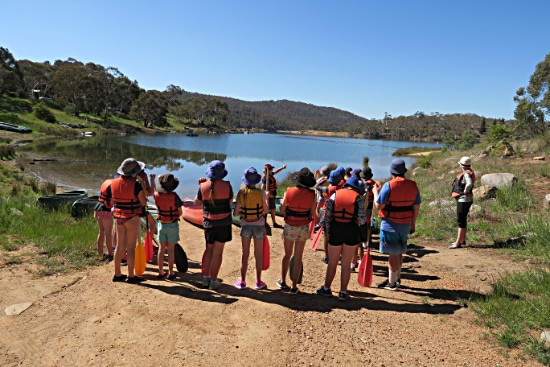 Canoeing. Copyright NSW Office of Sport 2020. All rights reserved.
