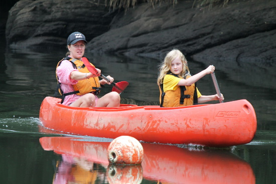Canoeing. Copyright The Outdoor Adventure Company 2020. All rights reserved.