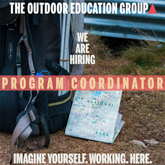 Program Coordinator. Copyright The Outdoor Education Group 2020. All rights reserved.