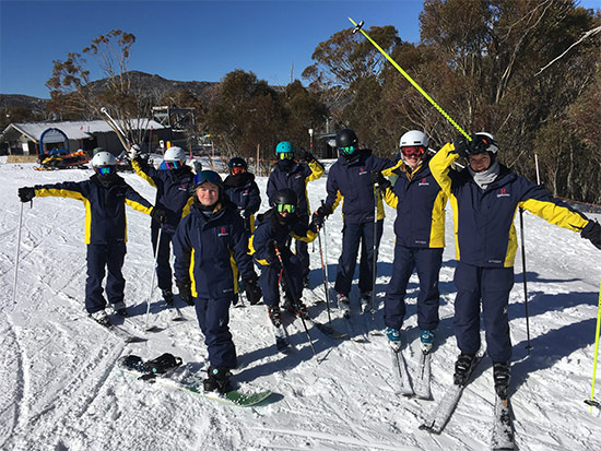 Ski Group. Copyright Redlands 2020. All rights reserved.