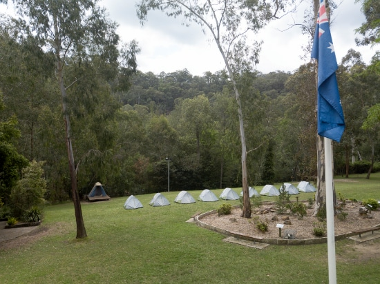 Campsite. Copyright Somerset Outdoor Learning 2020. All rights reserved.