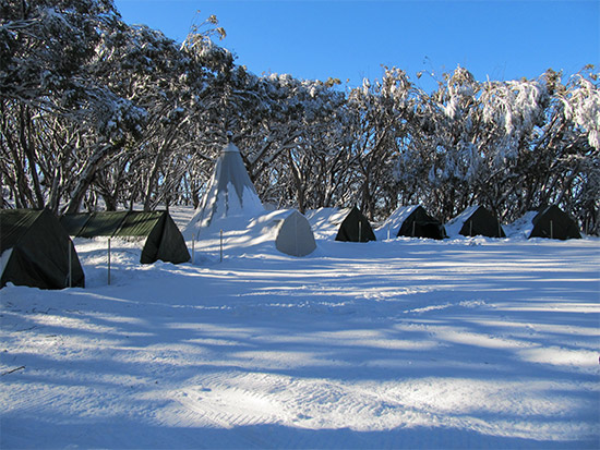 Mt Stirling Base Camp. Copyright Stirling Experience 2020. All rights reserved.