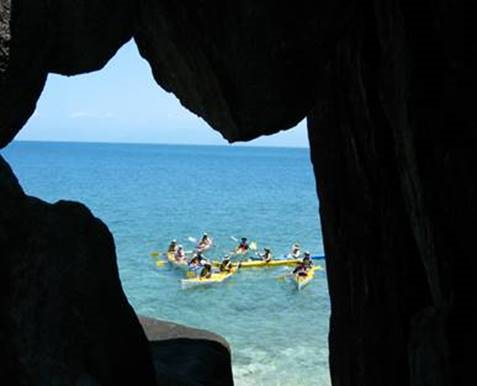 Sea Kayaking. Copyright Youth Justice 2020. All rights reserved.