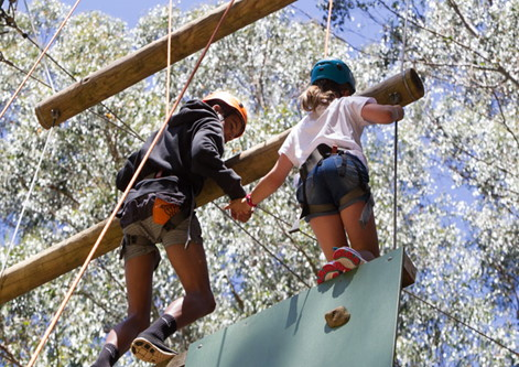 High Ropes. Copyright Binadree 2021. All rights reserved.