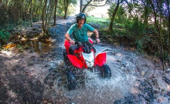 Quad Biking. Copyright Glenworth Valley 2021. All rights reserved.