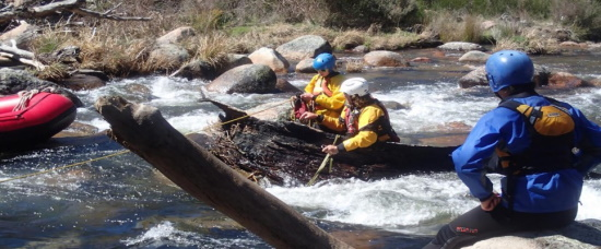 River Rescue Training. Copyright OETI 2021. All rights reserved.