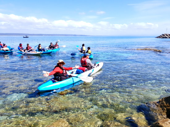 Sea Kayaking. Copyright Optimum Experiences 2021. All rights reserved.