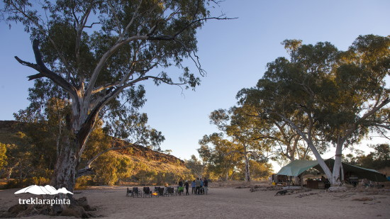 Campsite. Copyright Trek Tours Australia 2021. All rights reserved.
