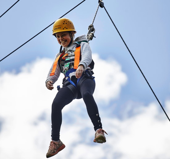 High Ropes. Copyright UC Camping 2021. All rights reserved.