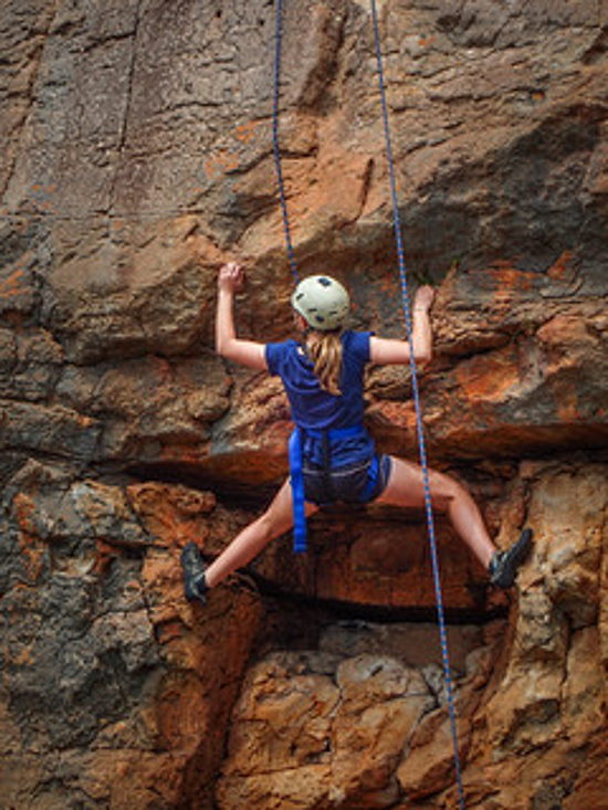 Rockclimbing. Copyright Wildside 2021. All rights reserved.